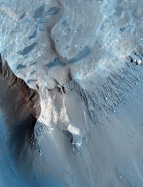 Марс раньше был иным